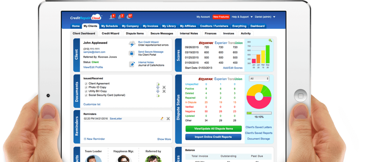 Credit repair cloud credit repair software crm try it free solutioingenieria Gallery