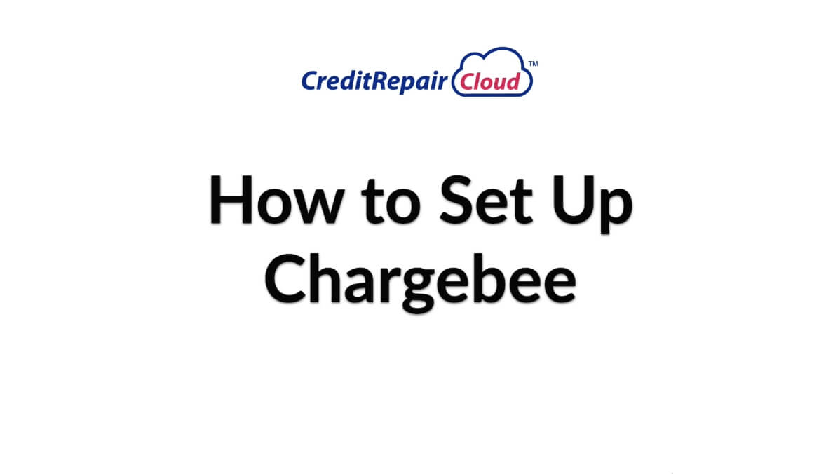 how to set up chargebee