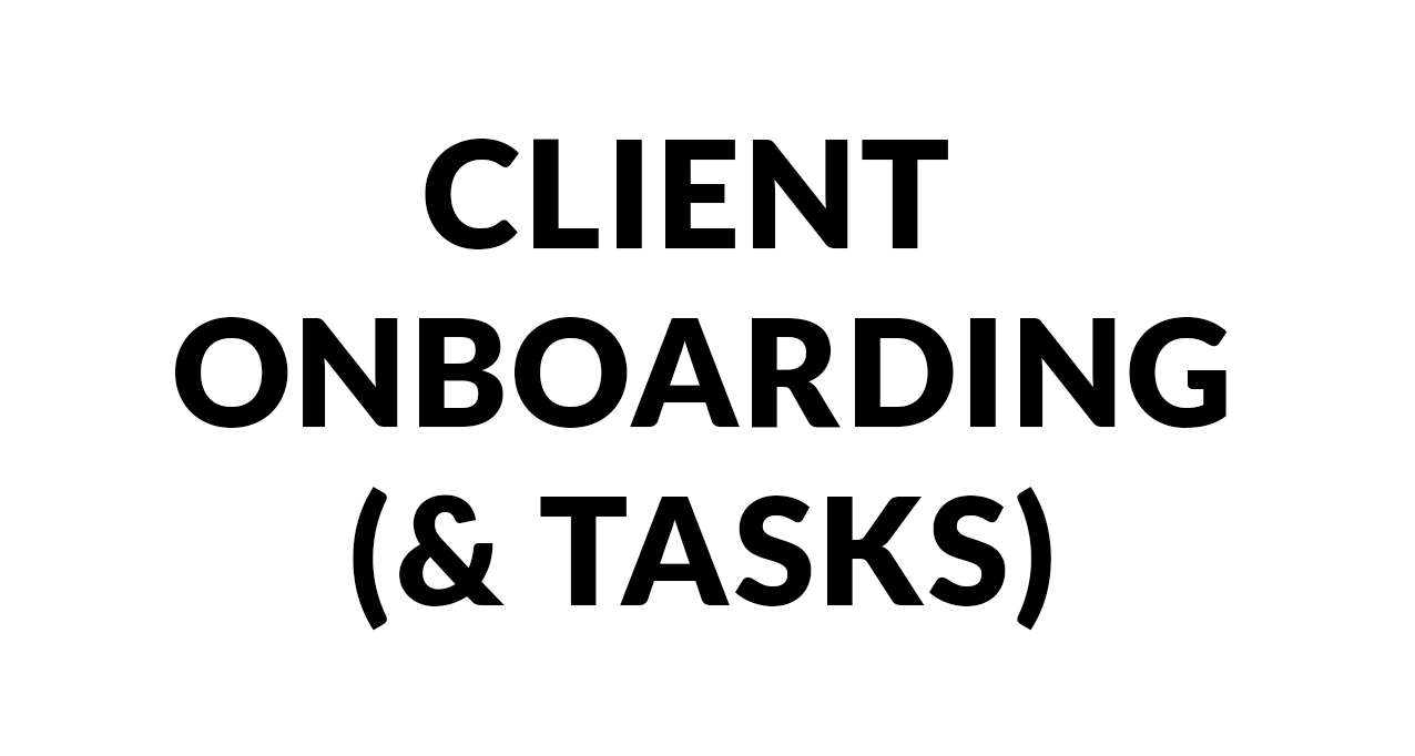 Client Onboarding and Tasks copy