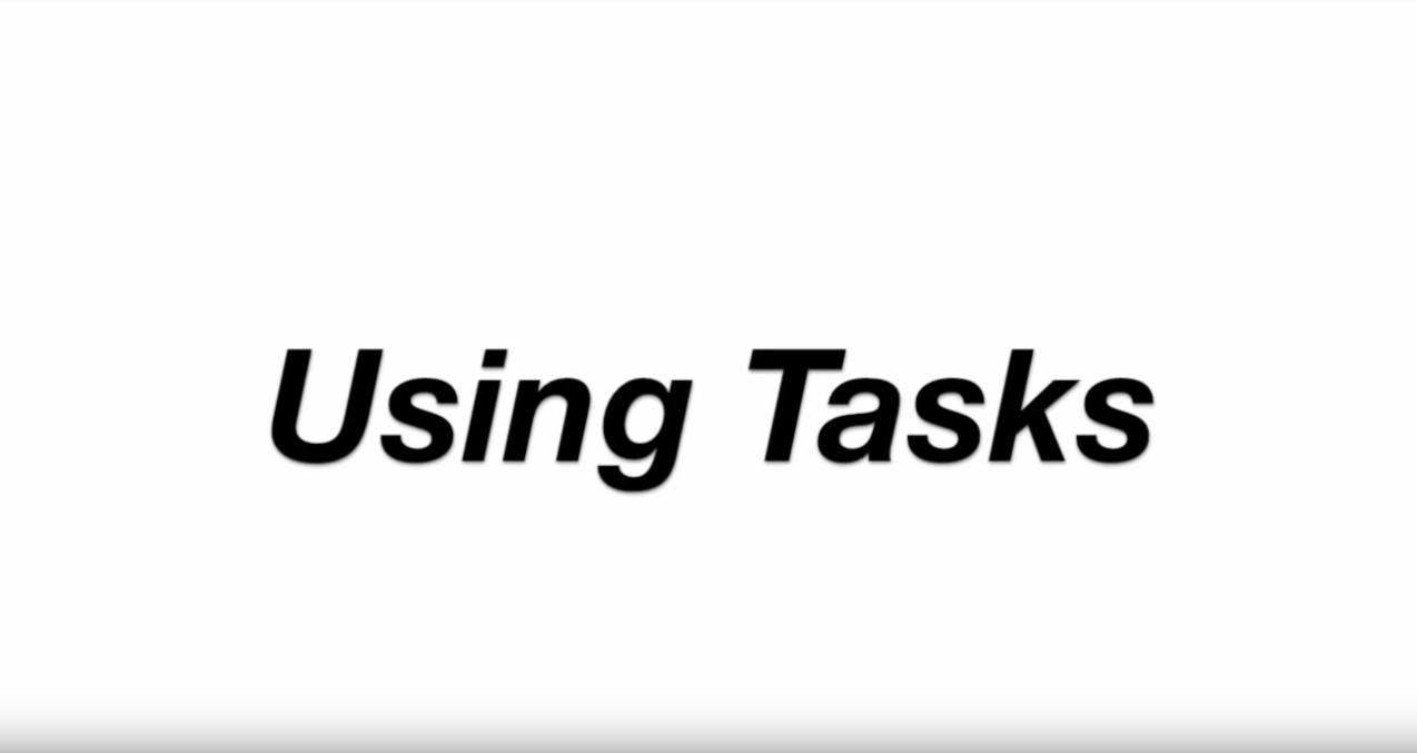 Using Tasks