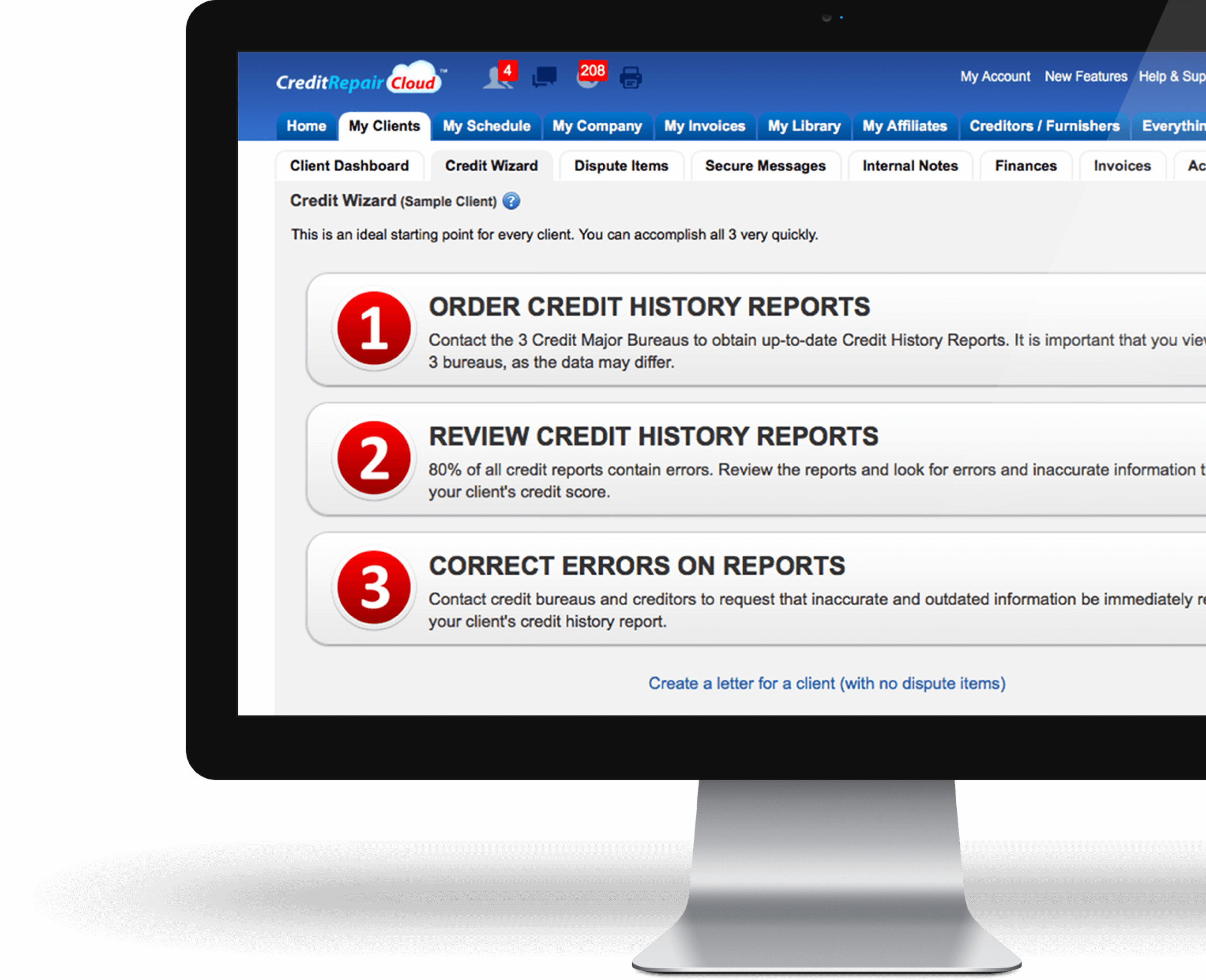 Credit Repair Cloud | Credit Repair Software CRM | Try it FREE!